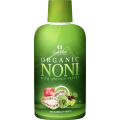 Organic Noni sok with organic fruits
